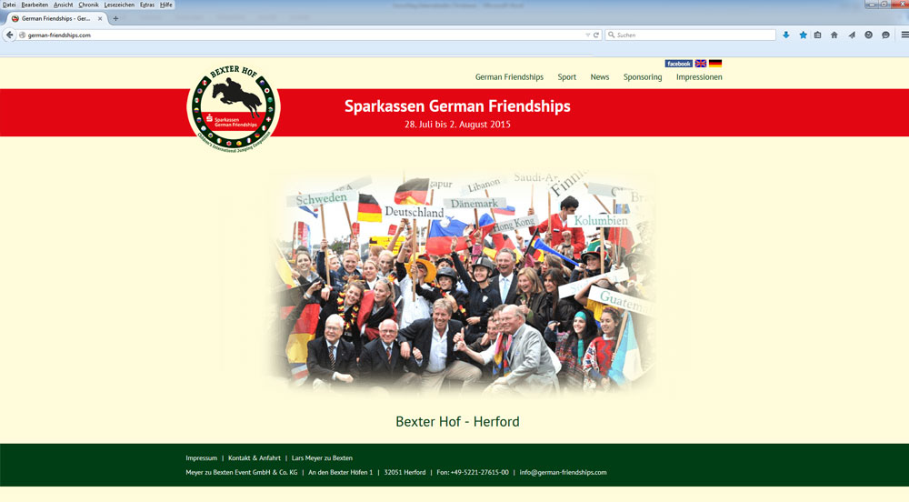 Werbeagentur Baurichter - Webdesign - Bad Oeynhausen - German Friendships