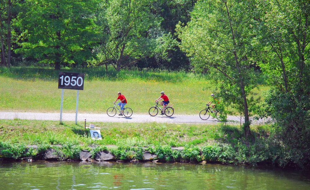Donauradweg Welcome Aboard