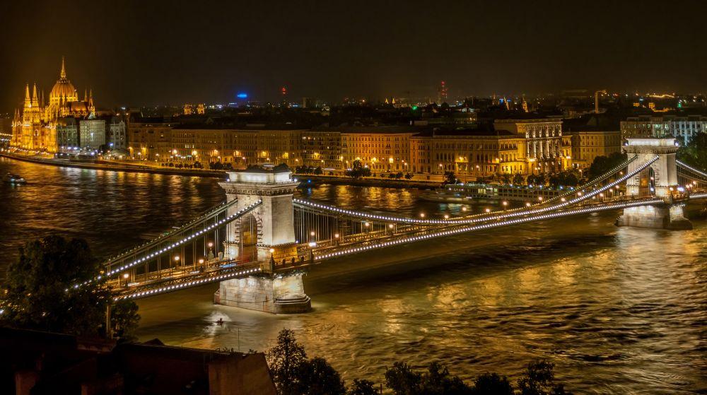 Donau, Budapest