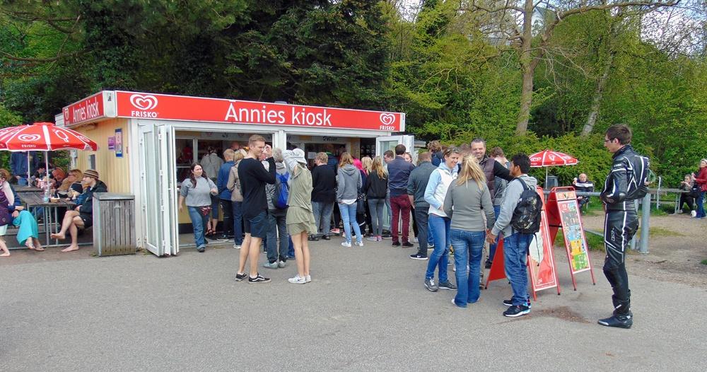 Dies ist der berühmteste Hotdog-Stand Süddänemarks. Foto: Dirk Kröger