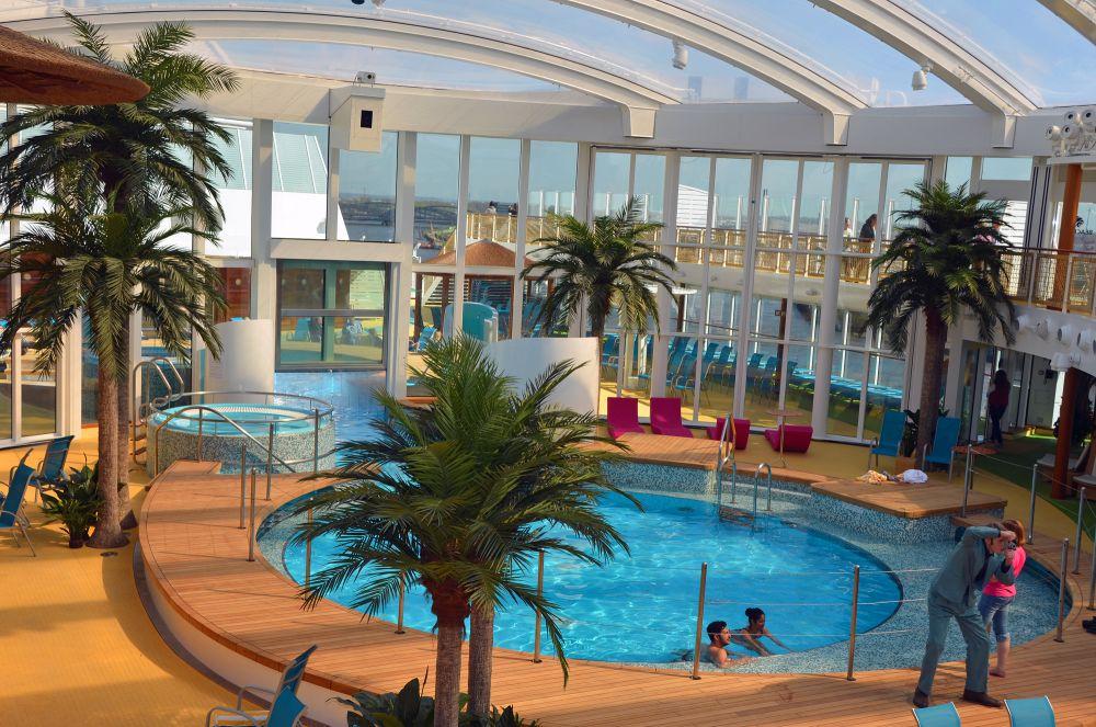 AIDAprima Beach Club Welcome Aboard