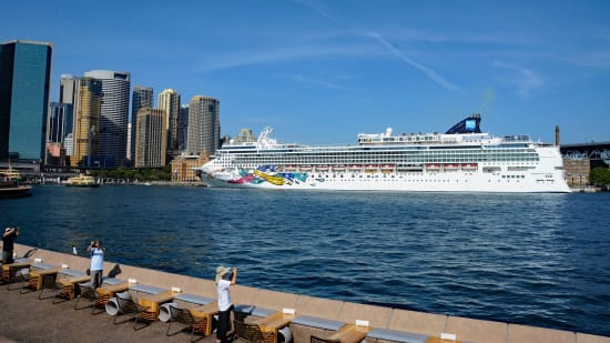 Norwegian Jewel in Sydney