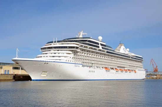 Marina Oceania Cruises Welcome Aboard