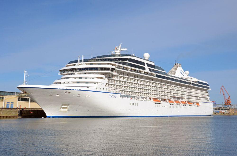 Marina Oceania Cruises Welcome Aboard