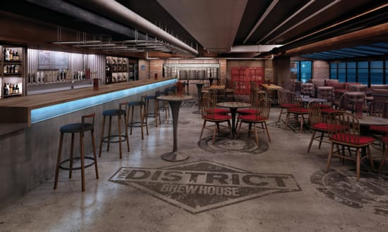 District Brew House, Norwegian Escape