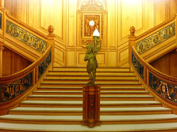 Titanic Treppe