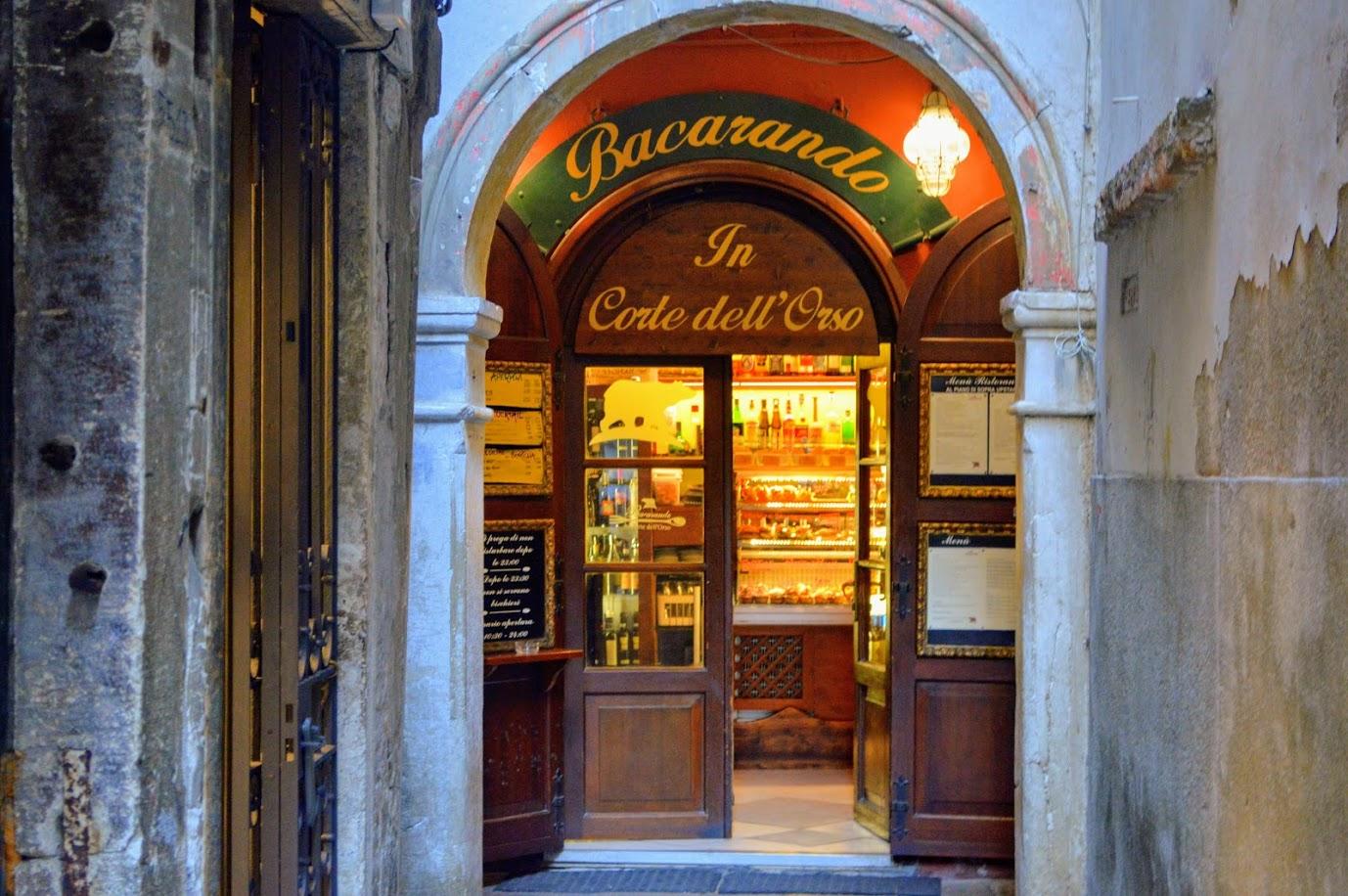 Weinbar Venedig