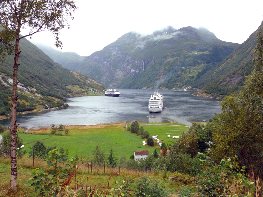 Geiranger Fjord, Welcome Aboard