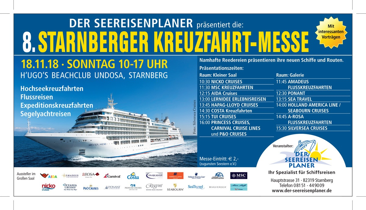 Kreuzfahrtmesse Starnberg