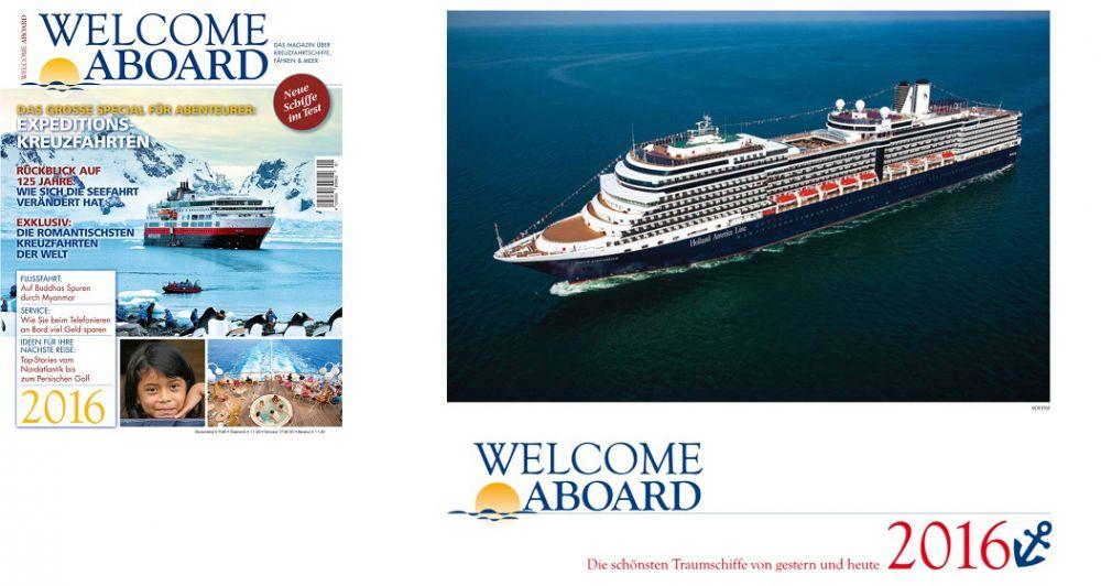 Kreuzfahrtmagazin Welcome Aboard 2016