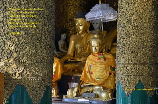 Buddha Welcome Aboard-Magazin