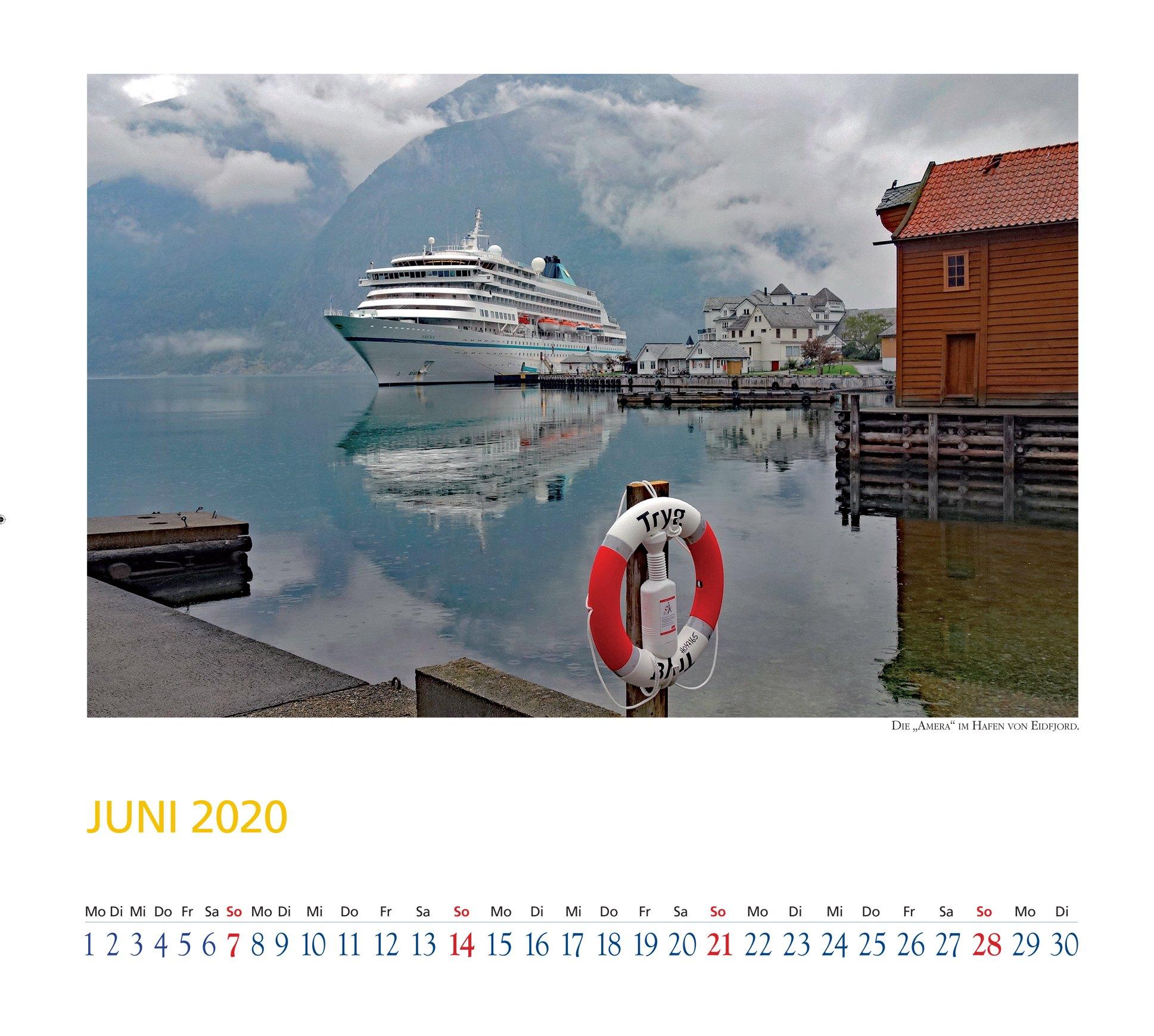 Kreuzfahrtkalender