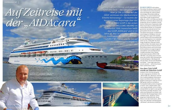 AIDAcara Welcome Aboard 2019