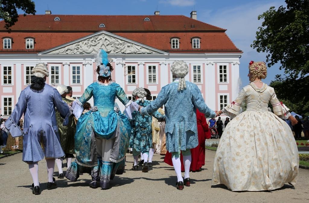 Schloss Friedrichsfelde Rokoko-Fest Berlin