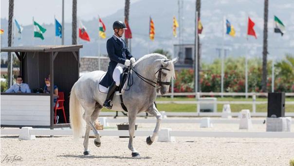 La Pasión, spanische Meisterschaft, Dressurreiten, Iberische Pferde im Dressursport