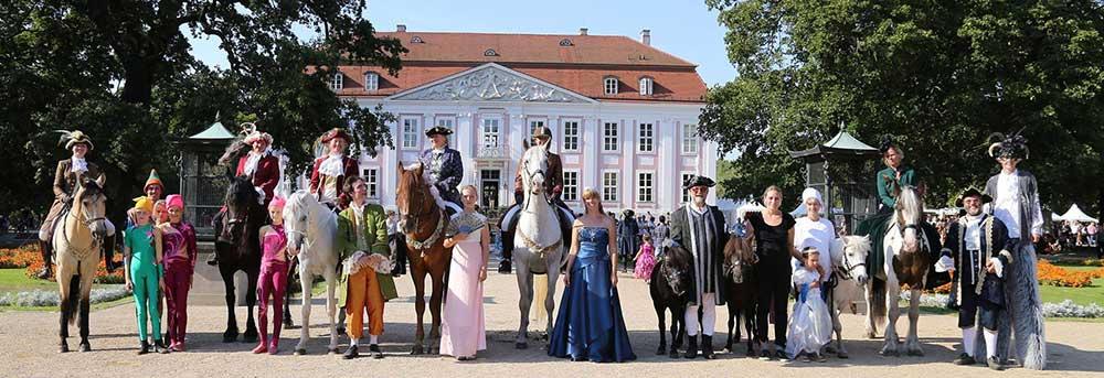 Großes Rokoko-Fest Schloss Friedrichsfelde, Repente